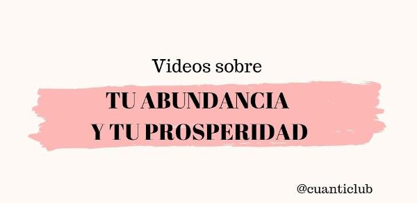 Trabaja tu abundancia y prosperidad